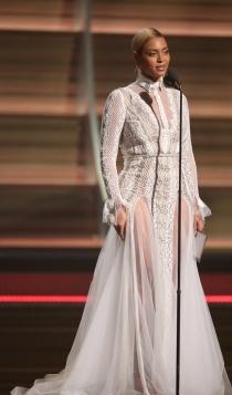 Otro vestido de Beyoncé que podría ser de novia