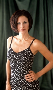 2001: Courteney Cox, una belleza natural