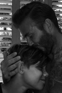 David Beckham, amor de padre