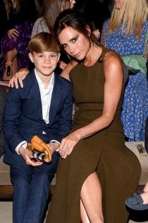 Romeo Beckham, siguiendo los pasos de su madre