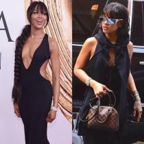 Famosas que no sabías que son amigas: Rihanna y Naomi Campbell, íntimas