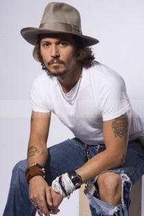Johnny Depp, sexy tatuado