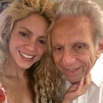 Famosos con sus padres: Shakira, todo amor