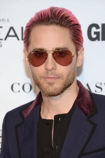 Jared Leto apostó por el rosa