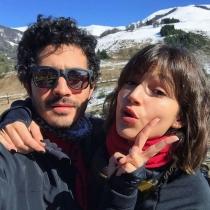 Chino Darín y Úrsula Corberó, felices en Argentina