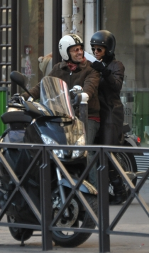Halle Berry y Olivier Martinez, paseos en moto