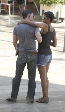 Halle Berry y Olivier Martinez, miradas cómplices