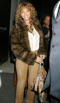 El abrigo de piel de Beyoncé que no debería sacar jamás
