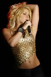 Shakira, estupenda