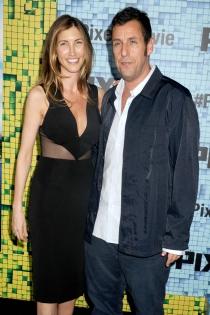 Famosos casados con personas normales: Adam Sandler