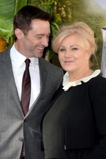 Famosos casados con personas normales: Hugh Jackman