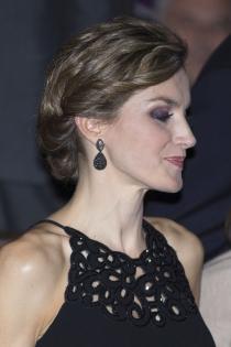 Peinados reina Letizia: un recogido muy especial