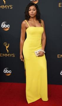 Emmys 2016: Taraji P Henson, cero supersticiones