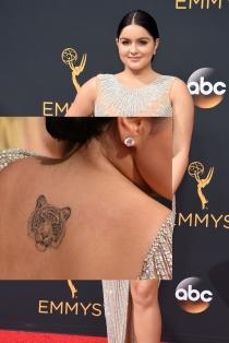 Tatuajes en la espalda: el tigre de Ariel Winter