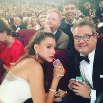 Emmys 2016 en Instagram: Sofía Vergara,¡no sin mi zumo!