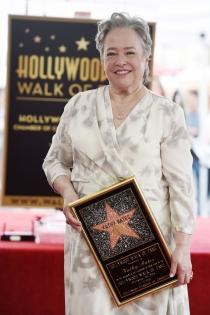 Paseo de la fama: Kathy Bates, nunca es tarde
