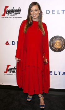 Olivia Wilde, total red
