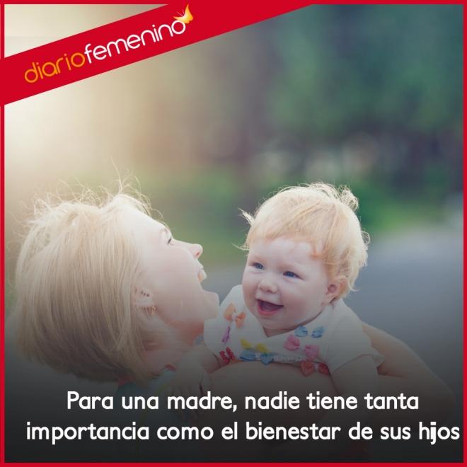 Frases De Amor Para Una Madre La Felicidad De Sus Hijos