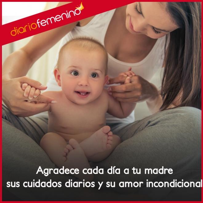 Frases De Amor Para Una Madre Amor Incondicional
