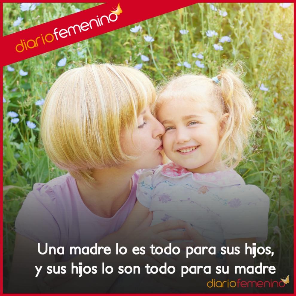 Frases de amor para una madre un amor de ida y vuelta