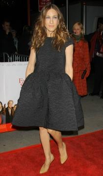 El vestido negro de Sarah Jessica Parker menos representativo