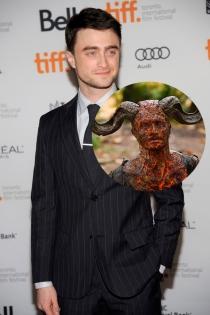 Actores irreconocibles en películas: Daniel Radcliffe en Horns