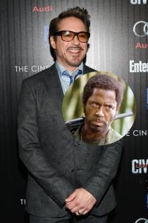 Actores irreconocibles en películas: Robert Downey Jr en Tropic Thunder