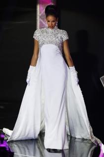Otro de los looks de Keysi Sayago para Miss Venezuela