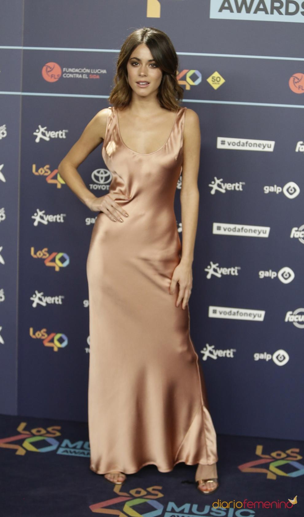 Cena nominados 40 principales: Martina Stoessel