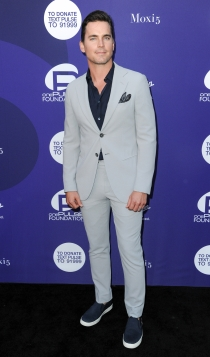 Matt Bomer, look 'sport chic'
