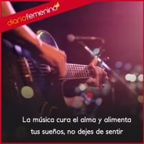 Frases para amar la música: no dejes de sentir