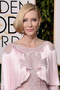 Famosas con falso bob: Cate Blanchett, radiante