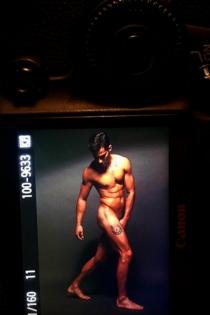 Joel Bosqued, arte y desnudos