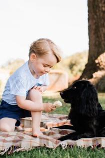 George de Inglaterra, aprendiendo a compartir