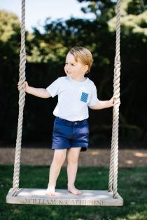 George de Inglaterra, ¡adorable!