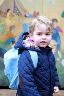 George de Inglaterra, un alumno más