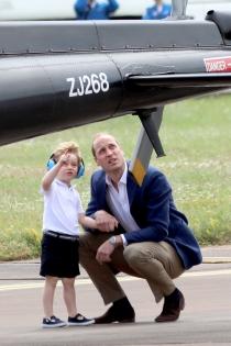 George de Inglaterra, pasión por los aviones