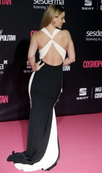 Premios Cosmopolitan: Edurne, black & white