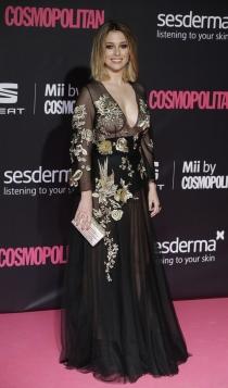 Premios Cosmopolitan: Blanca Suárez, ¡arriba las transparencias!