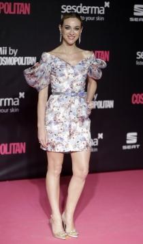 Premios Cosmopolitan: Marta Hazas apuesta por las flores