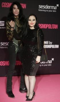 Premios Cosmopolitan: Mario Vaquerizo y Alaska