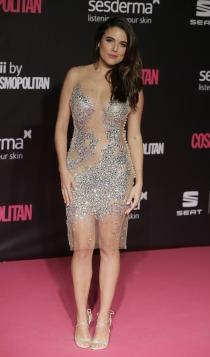 Premios Cosmopolitan: Adriana Ugarte, sensual y radiante