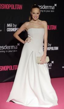 Premios Cosmopolitan: María Castro, elegante y sofisticada