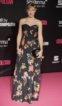 Premios Cosmopolitan: Cecilia Freire apuesta por los estampados