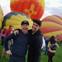 Jesse Tyler Ferguson y Justin Mikita, pura felicidad