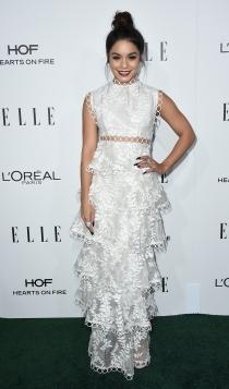 Premios ELLE: Vanessa Hudgens, total white