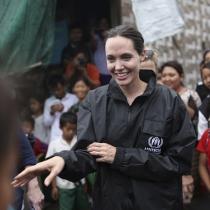 Famosos embajadores de buena voluntad: Angelina Jolie