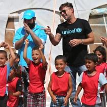 Famosos embajadores de buena voluntad: Ricky Martin