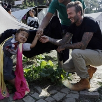 Famosos embajadores de buena voluntad: David Beckham