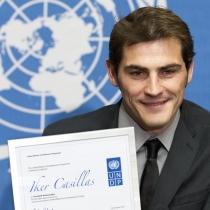 Famosos embajadores de buena voluntad: Iker Casillas